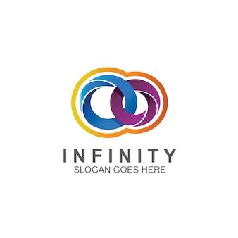 Disegno del logo infinito