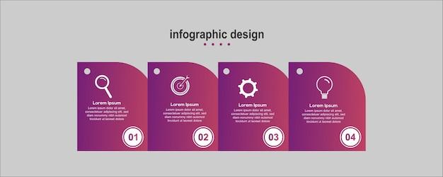 Info grafica diagonale design business