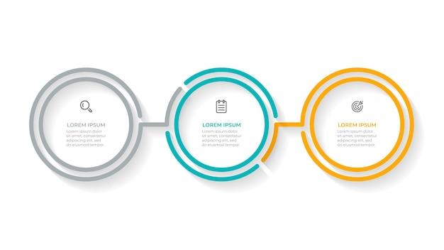 Modello di processo aziendale infografica