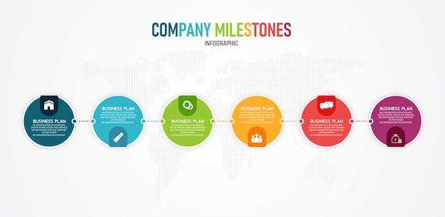 L'illustrazione infografica può essere utilizzata per le presentazioni, processi, layout, banner, dati, grafici