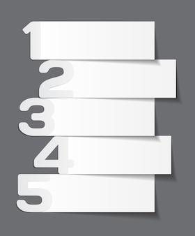 Modelli di infografica per l'illustrazione vettoriale aziendale