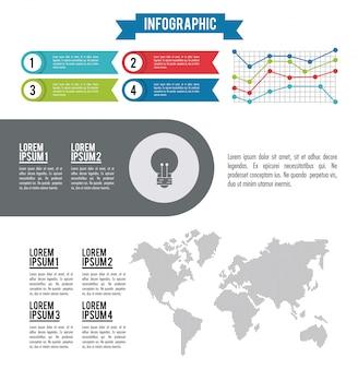Mondo intero infografica