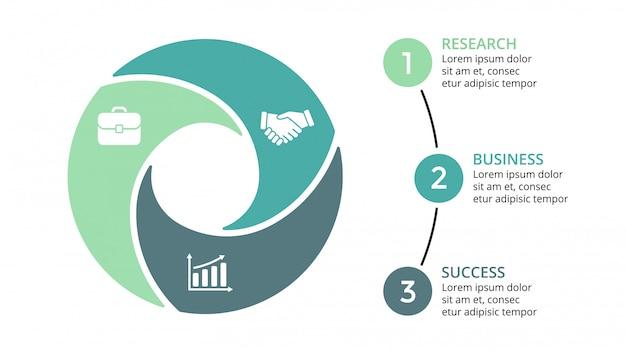 Infografica per il concetto di business. progettazione isometrica infografica -