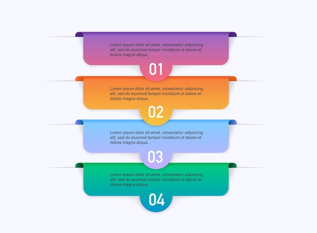 Presentazioni infografiche con passaggi