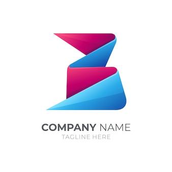Lettera iniziale b logo