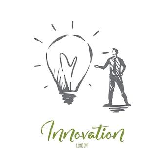 Illustrazione di innovazione disegnata a mano