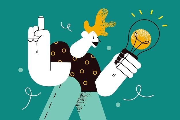 Innovazione ispirazione nuove idee