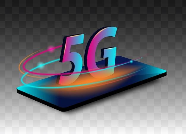 Generazione innovativa della banda larga internet globale ad alta velocità.