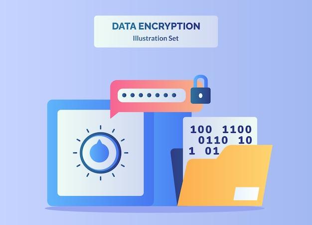Inserire la password per sbloccare il caveau