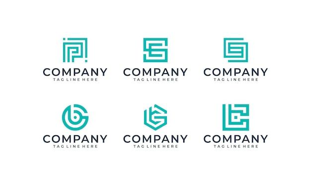 Pacchetto di design del logo di ispirazione