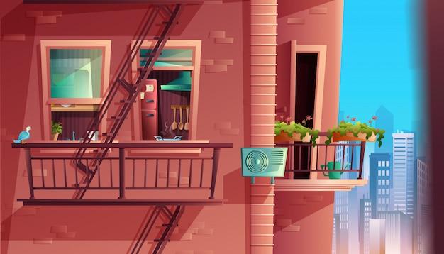 Interno, architettura, casa, casa, edificio, camera, design, finestra, porta, appartamento, costruzione, parete, mobili, cucina, balcone, grecia, sfondo, edifici, cartone animato, paesaggio dei cartoni animati, città,