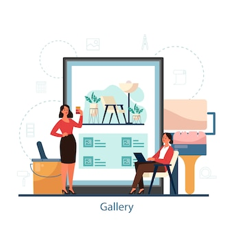 Galleria online di interior design