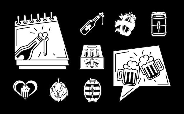 Set per la giornata internazionale della birra