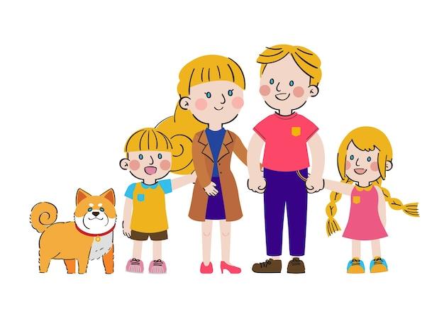 Giornata internazionale delle famiglie grande amore dolce solidarietà carattere familiare