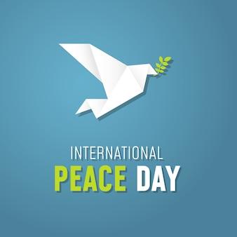 Origami giornata internazionale della pace