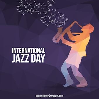 Sfondo internazionale del giorno di jazz