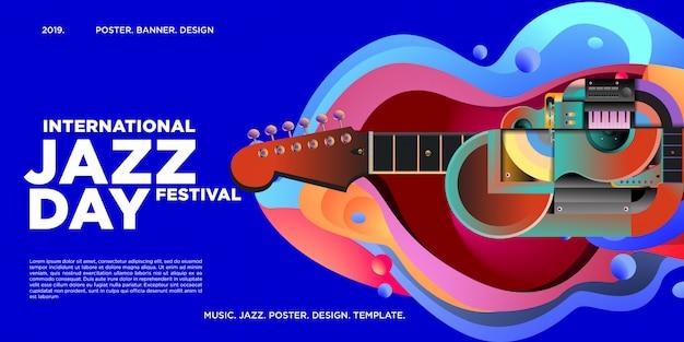 Poster e banner internazionali per il jazz