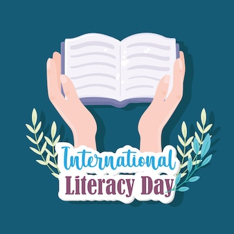 Lettura della giornata internazionale dell'alfabetizzazione
