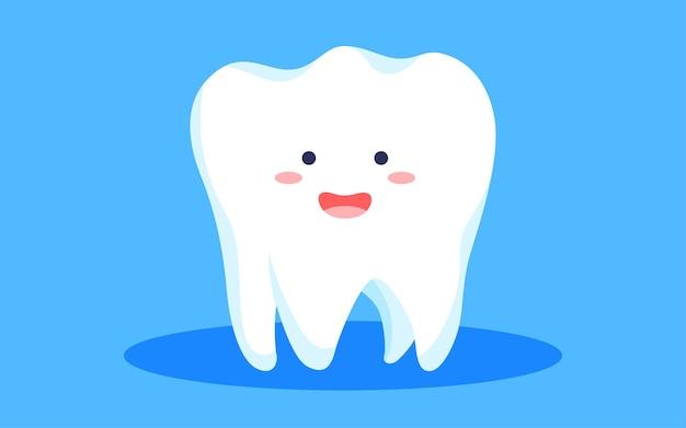 Giornata internazionale del dente d'amore illustrazione di spazzolatura salute dentale pulizia orale poster