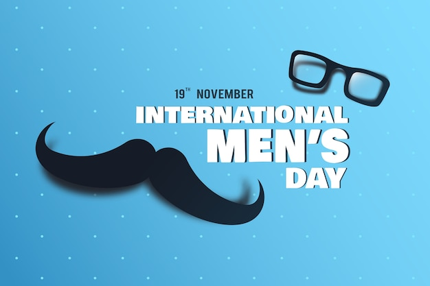 Concetto di giornata internazionale degli uomini