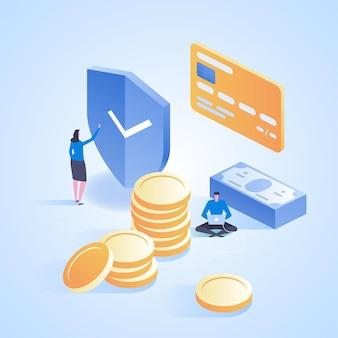 Internet banking transazione di sicurezza dei pagamenti online