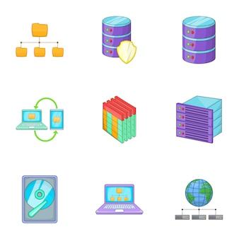 Set di tecnologia di hosting internet