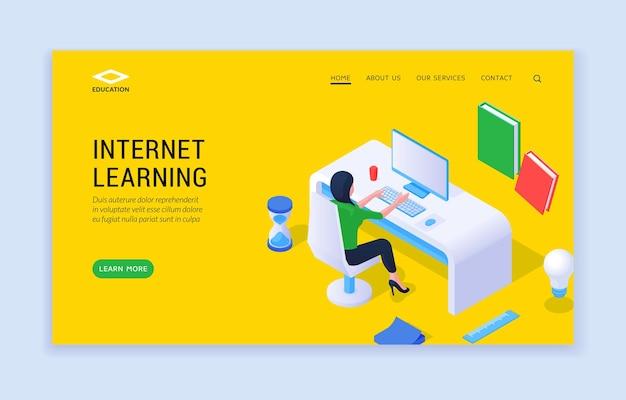 Sito web di apprendimento su internet
