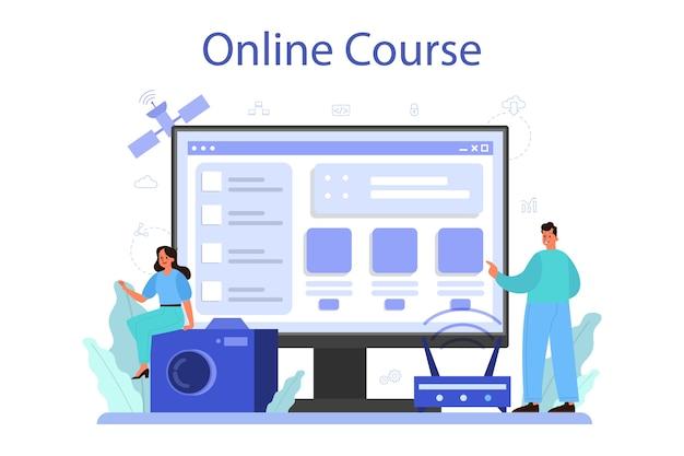 Servizio o piattaforma online di internet of things.
