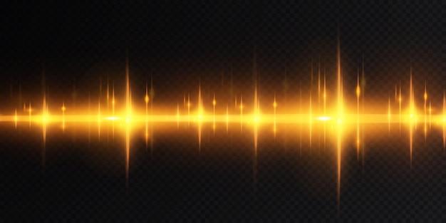 Presentazione degli effetti dei set di luci dorate
