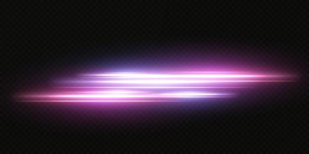 Presentazione degli effetti dei set di luci al neon