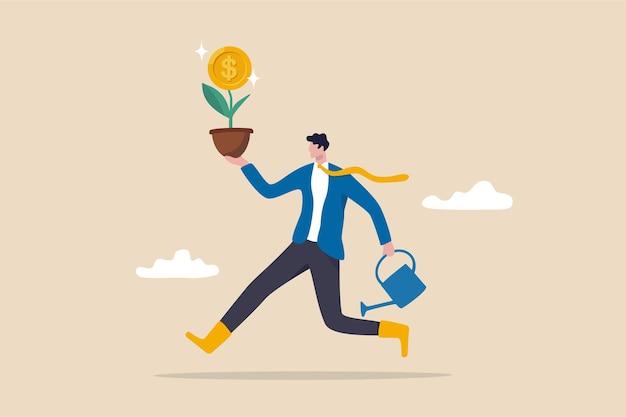 Investire in azioni di crescita, guadagnare dagli investimenti
