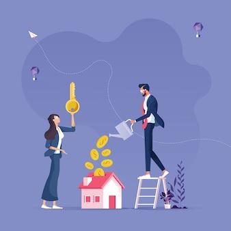 Investire nel concetto immobiliare