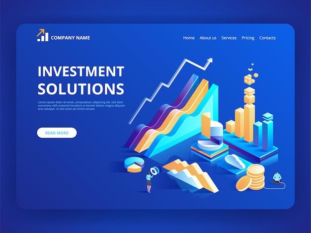 Soluzioni di investimento strategia di economia dello sviluppo bancario