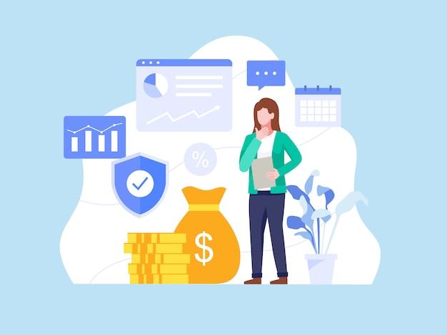 Concetto di investimenti e finanza