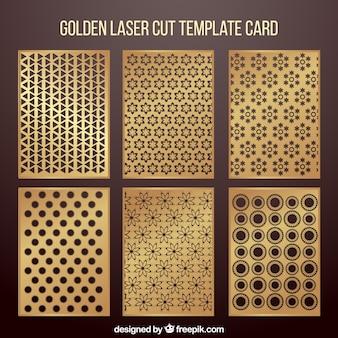 Collezione di invito con taglio laser