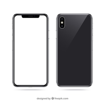 Iphone x con schermo bianco