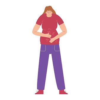 Sindrome dell'intestino irritabile gastrite acuta ulcerdysbacteriosis ernia addominale
