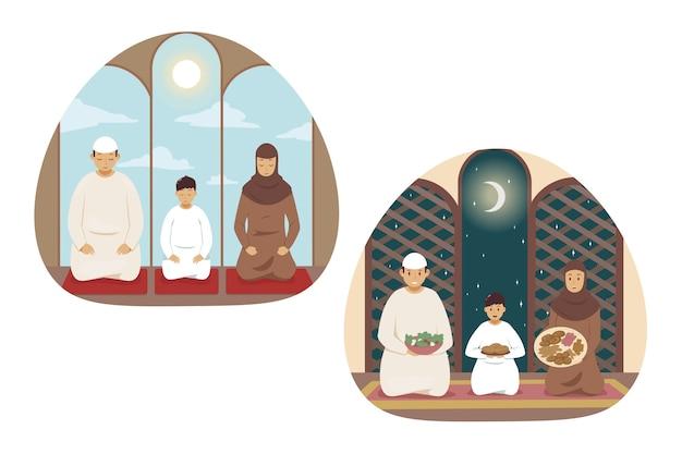 Illustrazione di islam
