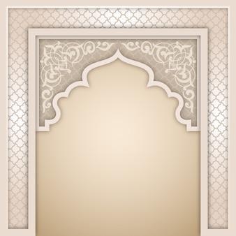 Modello di progettazione arco islamico