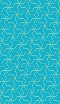 Modello senza cuciture geometrico islamico