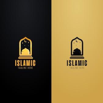 Logo islamico impostato in due colori