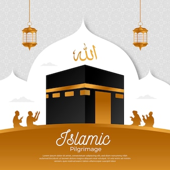 Evento di pellegrinaggio islamico