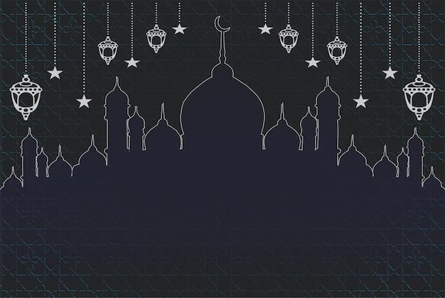 Sfondo religioso islamico