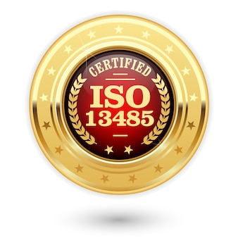 Medaglia certificata iso 13485 - dispositivi medici