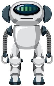 Robot isolato su bianco