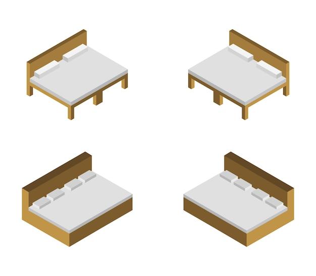 Set letto isometrico