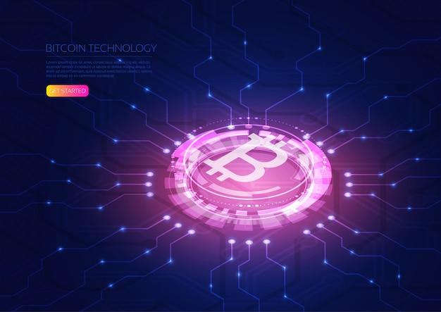 Bitcoin isometrico