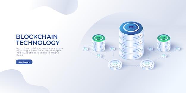 Tecnologia blockchain isometrica