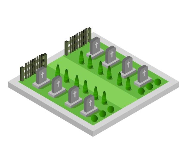 Cimitero isometrico