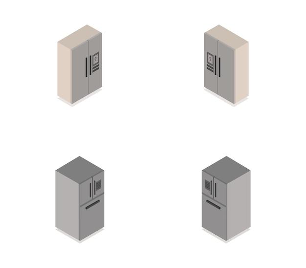 Set frigo isometrico